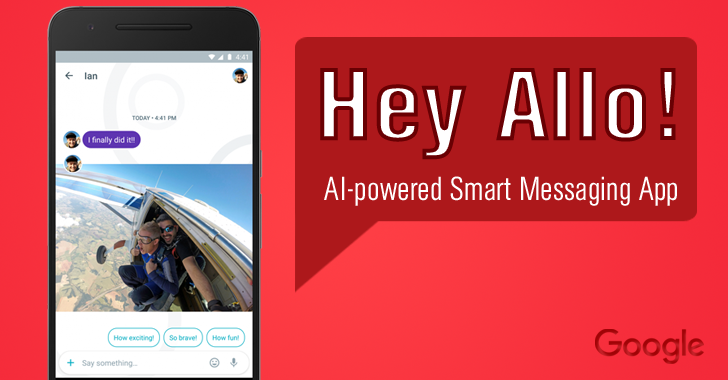 Google Allo Messaging Application