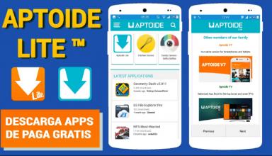 Download Aptoide lite apk