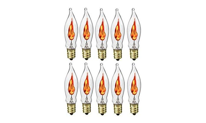 Creative Hobbies flicker flame light bulb