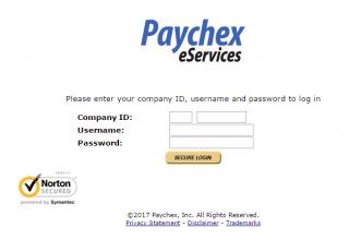 Paychex Login Online