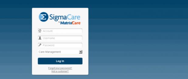 SigmaCare Login - EMR Software