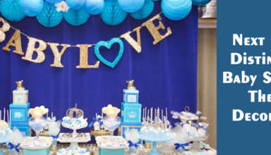 Next Level Distinctive Baby Shower Theme Decoration