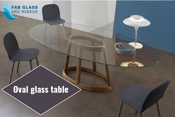 Oval Glass Table for Modern Homeowners