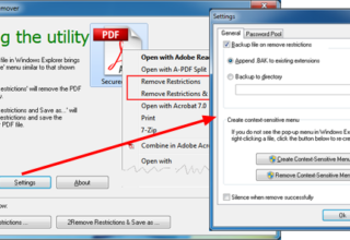 Remove PDF Printing Restrictions - Take Print of Secured PDF Document