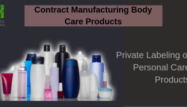 Contract Manufacturing Body Care Products