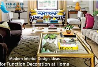 Modern Interior Design Ideas for Function Decoration at Home