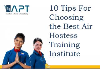 Air hostess training