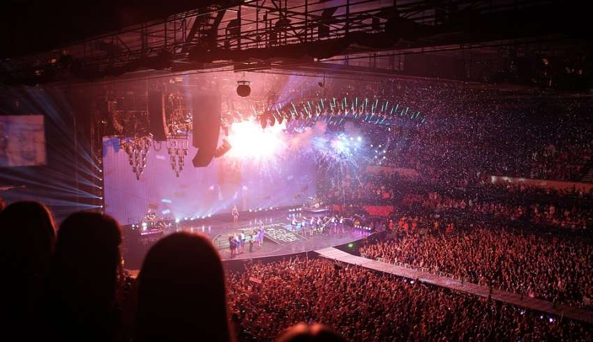 Technology in music concerts