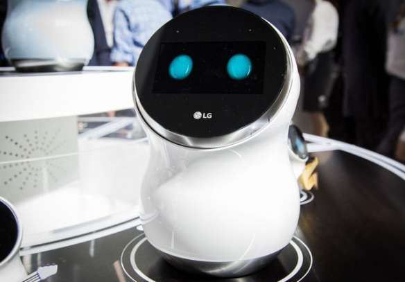 Smart butler robot