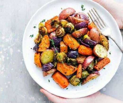 Baked-Vegetables