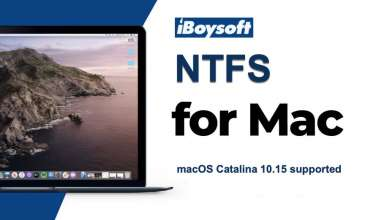 How To Write To NTFS Drives On Mac With iBoysoft NTFS?
