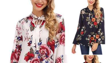 Womens Floral Tops