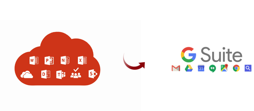 export user data from office 365 to g suite