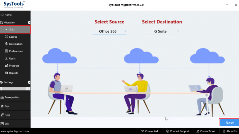 office 365 to g suite migrator