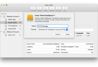 How to Write to NTFS Drives on Mac Natively with iBoysoft NTFS for Mac?