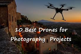 The 10 Best Drones with Camera for Photography of 2019.