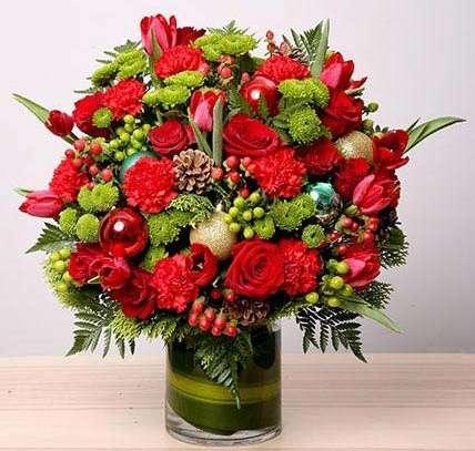 Vase Arrangement of Flowers