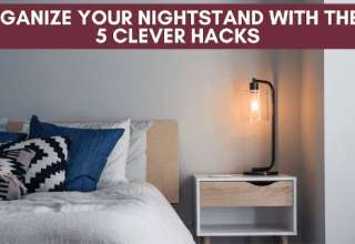 organize your nightstand