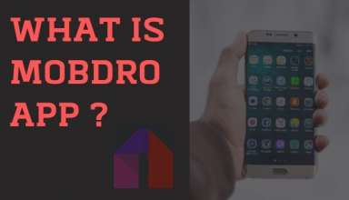 what is mobdro app