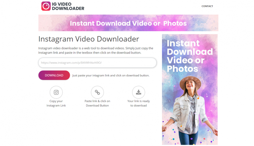 IG Video Downloader
