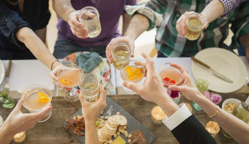 Preparation for a Cocktail Party