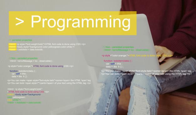Programming Script Text Coding Word