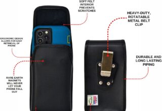 iPhone belt holders