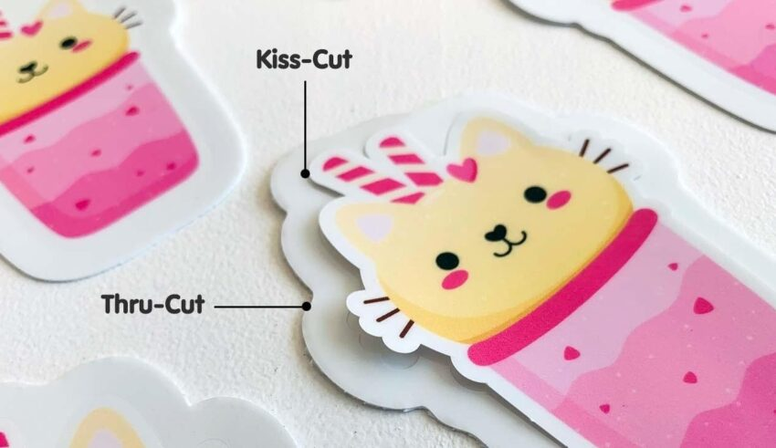 How to Make Your Kiss Cut Sticker